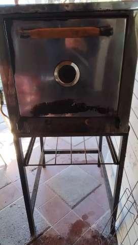 Horno gastronómico + 5 asaderas