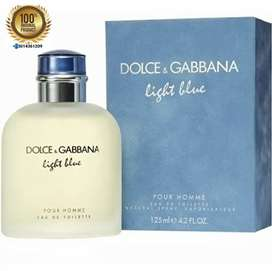 Perfume Dolce Gabbana Light Blue Hombre 125 Ml Original Sellado