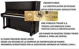 PIANO JAPONES CON CERTIFICADO DE AUTENTICIDAD