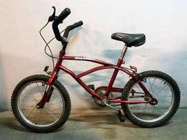 bicicleta de niño board  playera rod 16