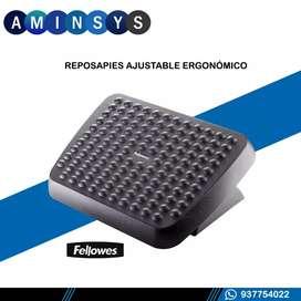 Reposapies ajustable ergonomico