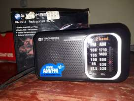 Radio portatil FM/AM Stromberg Carlson