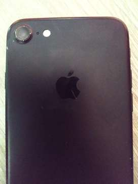 Vendo iPhone 7 de 32  Negro Huella Full