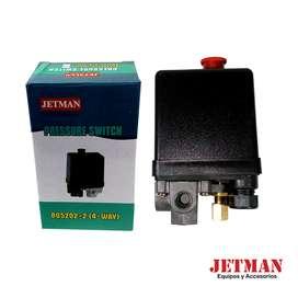 Interruptor de Presión Negro de 3 Salidas/ Rotwerk/ 805202-2