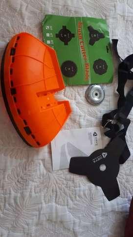 Disco Corte Moto-guadaña Metalica 3 Filos y protector