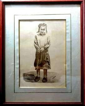Coleccion dibujo, litografia Osorio, enmarcadas