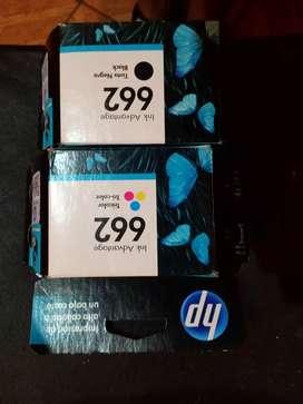 Vendo cartuchos para impresora HP nuevos