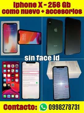 IphoneX 256 Gb + accesorios