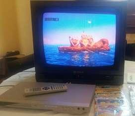 TV+ DVD CON KARAOKE +30 PELICULAS