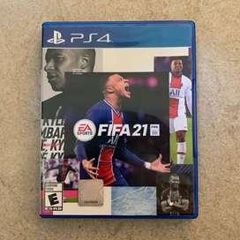 FIFA 21 PS4 EEUU Nuevo en Fisico