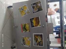 Vendo carro de comida 4 estaciones