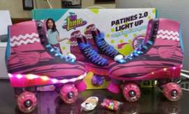PATINES CON LUCES LED