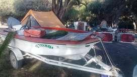 Bote pescador..con papeles y trailer