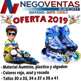 PATINES LINEALES DIFERENTES TALLAS