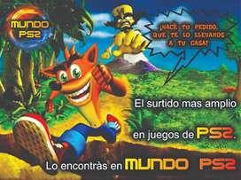 MUNDO PS2 - JUEGOS DE PLAY 2