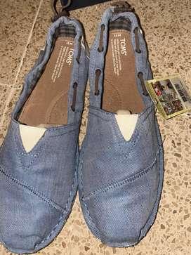 Zapatos toms talla 11