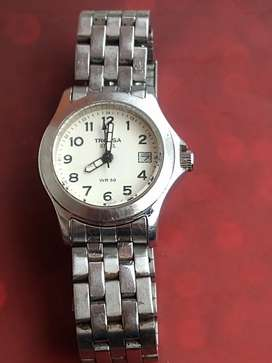 Fino reloj tressa de mujer hermosa baratísimo