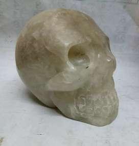 Piedra en forma de calavera