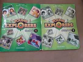 Libros de inglés young explorers1