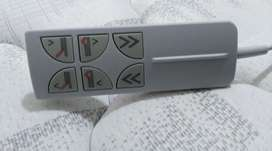Cama Reclinable - Happy Sleep - Colchón Luxury. Medidas 80 ancho x 1.90 largo. cama eléctrica.