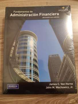 Libro FUNDAMENTOS DE ADMINISTRACION FINANCIERA 13 ED