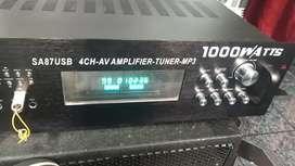 Amplificador nuevo usb