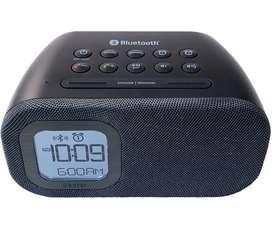 Reloj inteligente, parlante Bluetooth HD, radio, despertador y contestador IIhome