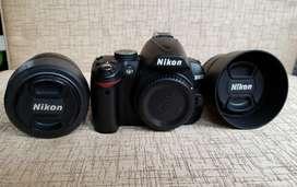 Vendo camara Semi Profesional Nikon D3000 impecable!!