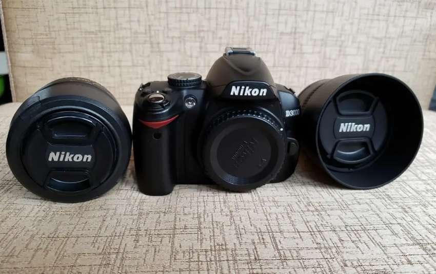 Vendo camara Semi Profesional Nikon D3000 impecable!! 0