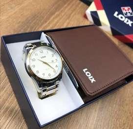 Reloj y cartera original LOIX