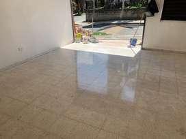 Cristalizada y restauración de pisos