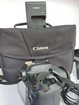Se vende cámara canon rebel