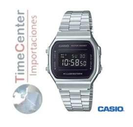 Reloj Casio Digital Para Hombre Y Mujer A168wem-1d