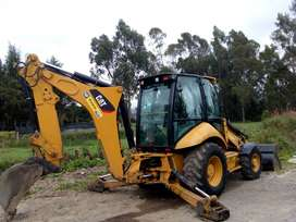 retroexcavadora cat 420 E