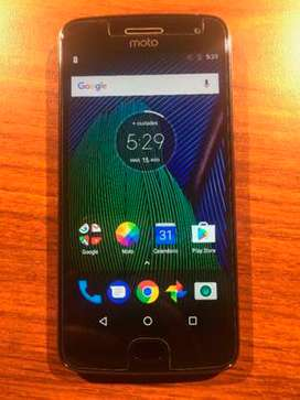 Vendo celular Moto G5 Plus libre