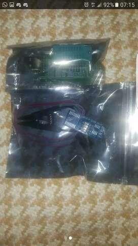 Programador ch341a USB con Pinza SOIC8