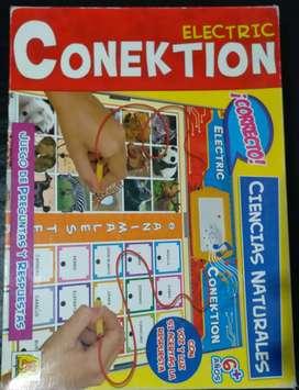 """Juego de aprendizaje """"electric conektion"""""""