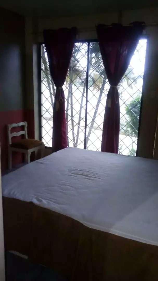 Se alquila mini departamento amueblado a $180 con 2 habitaciones, 2 baños, garaje y lavanderia 0