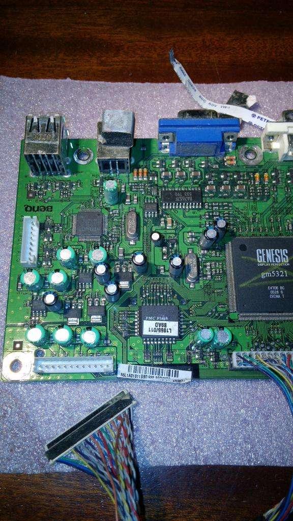 Placa Main Y Cable Flex de Monitor Benq 0