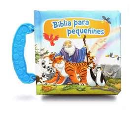 Biblia  para pequeñines tapa compacta gruesas ilustradas con historia