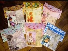 Papeles de carta Sarah kay artesanales