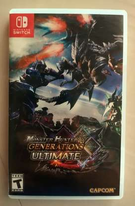 Juego Físico Monster Hunter Generations Ultimate Nintendo Switch