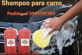 Shampoo para carro en caneca y galon .