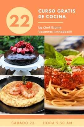 Curso de Gastronomia gratis
