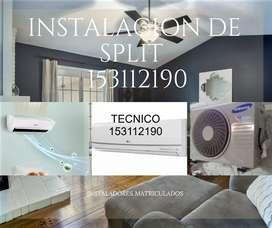 INSTALACION DE A /SPLIT 153112190