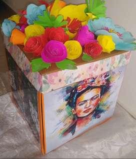 Caja Sorpresa  personalizada/kit Belleza