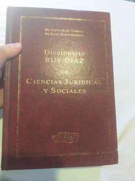 Diccionario ruy Diaz de Ciencias  jurídicas