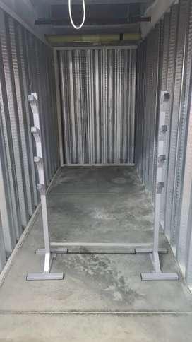 Rack sentadillas pesas crossfit gym