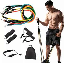 El mejor kit de bandas tubulares ejercicio en casa