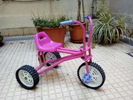Triciclo de Caño Resistente